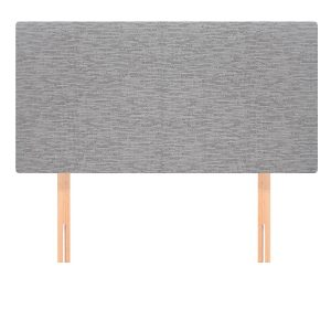 BBS1124  Sophie headboard 4ft in grey.