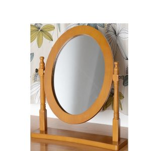 BBS694  CONTESSA DRESSING TABLE MIRROR in Pine