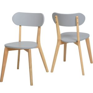 BBS764  JULIAN STACKING CHAIR PAIR