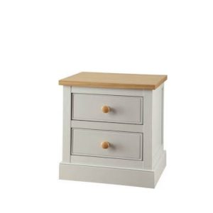 BBS920  Victoria 2 Drawer Bedside Locker