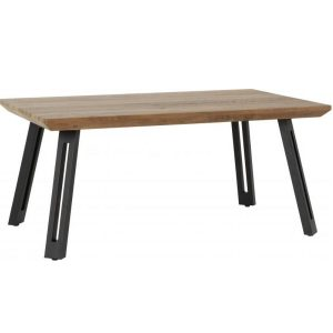 BBS1287  Quebec coffee table in medium oak effect.