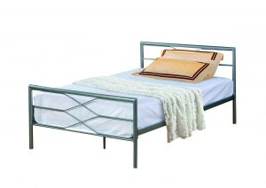 BuBS1399  METRO 3  BED - SILVER