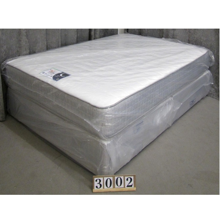 Aw3002  NEW Classic double bed and mattress.